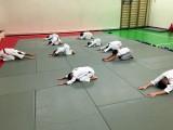 Занятие айкидо, детская группа