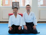 С Такэши Канадзава Шиханом после тренировки